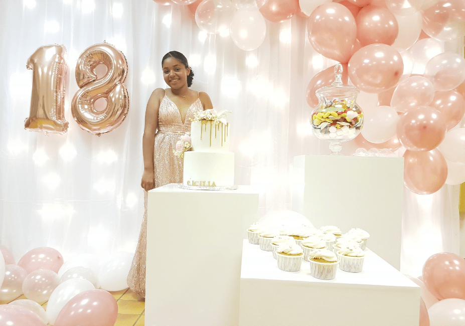 Anniversaire 18 Ans Girly Chic Idf Sweet Table France Yvelines