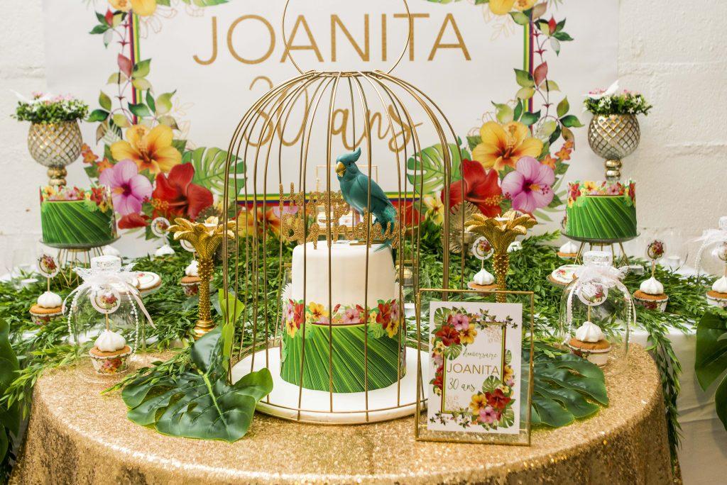 Anniversaire Exotic Sweet Table Gourmande Surprise Personnalisée