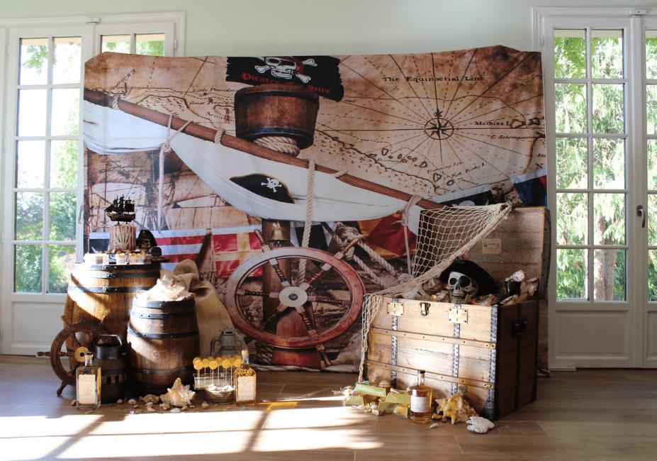 Anniversaire Pirate Sweet Table Gourmande Personnalisée À Thème Yvelines France