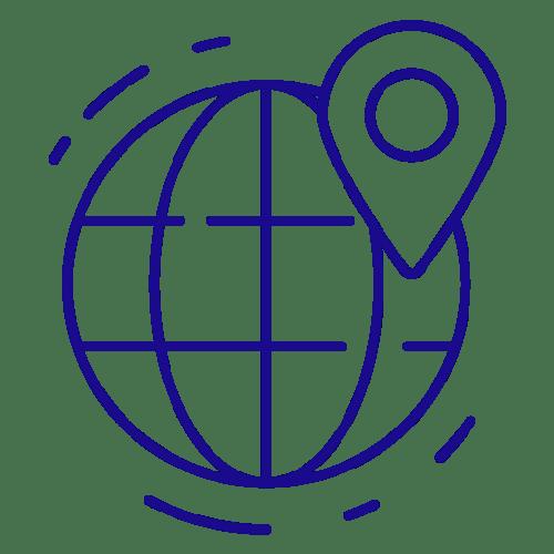 Business Icons Local Dans Le Monde France Et Ile Maurice Ocean Indien