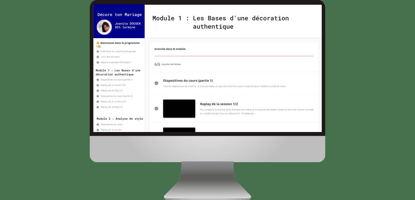 coaching decoration formations en ligne