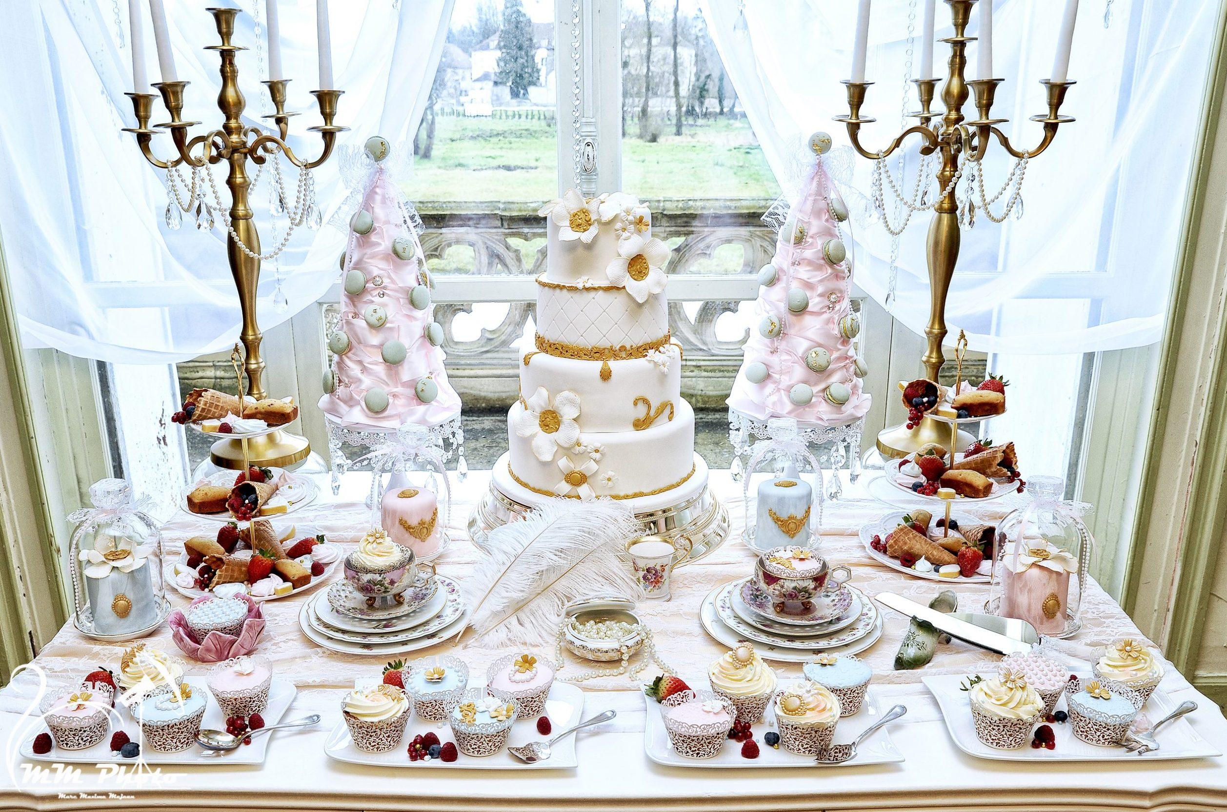 Evenement Mariage Boudoir Sweet Table Gourmande Chic Et Raffiné