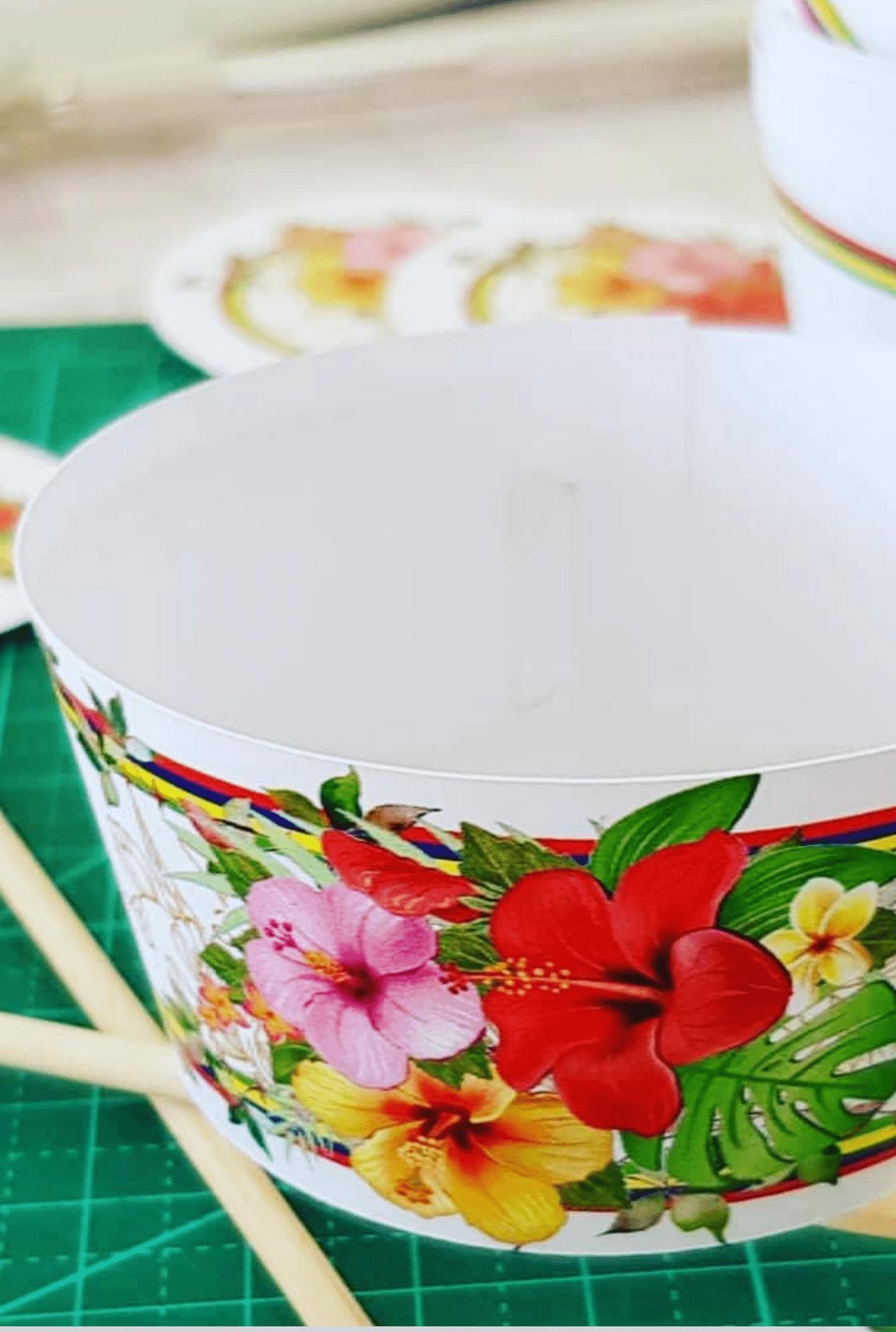 Prestation Papeterie Cup Cake Caissette Ecologique Exotique
