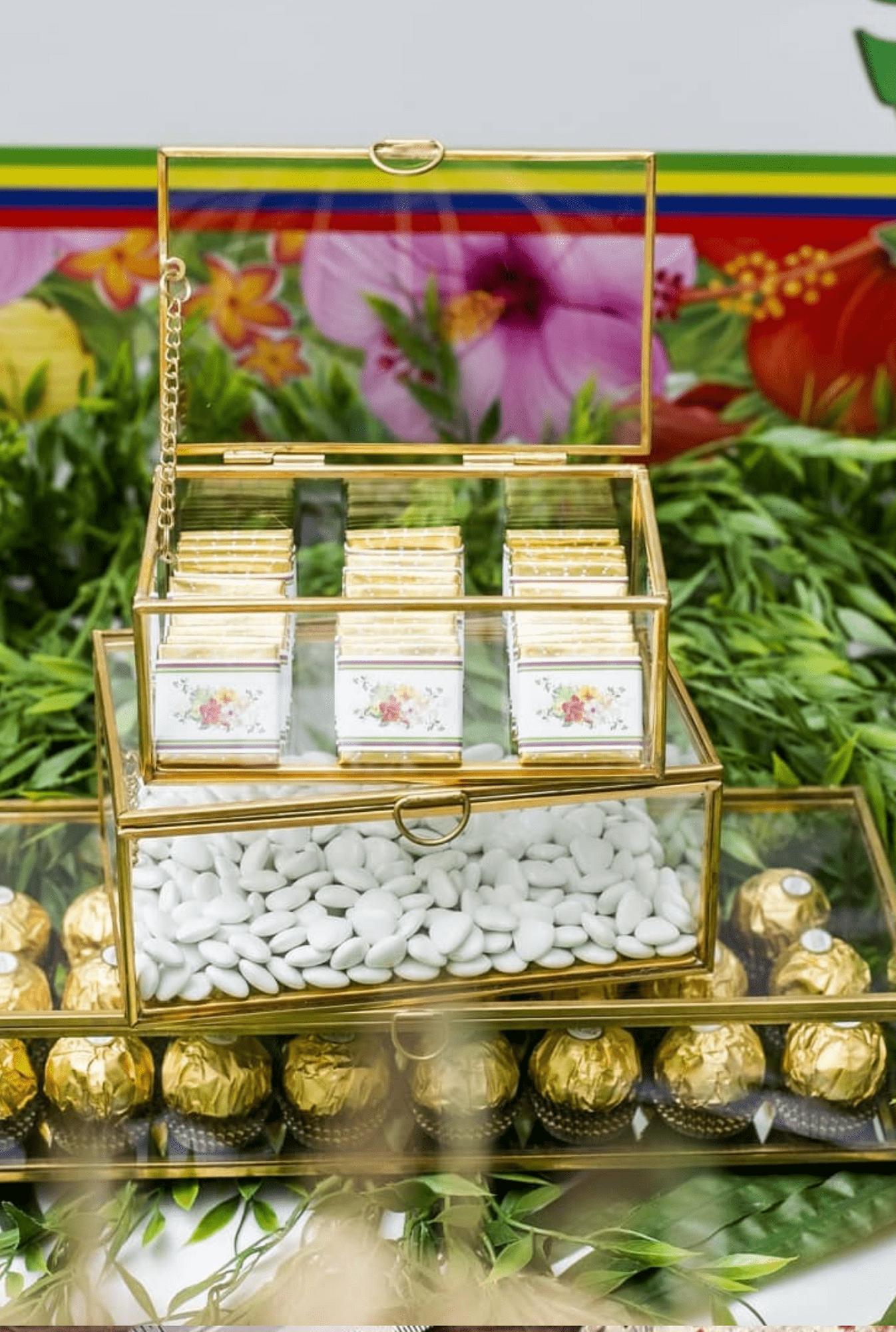 Prestation Papeterie Étiquette Chocolat Exotique