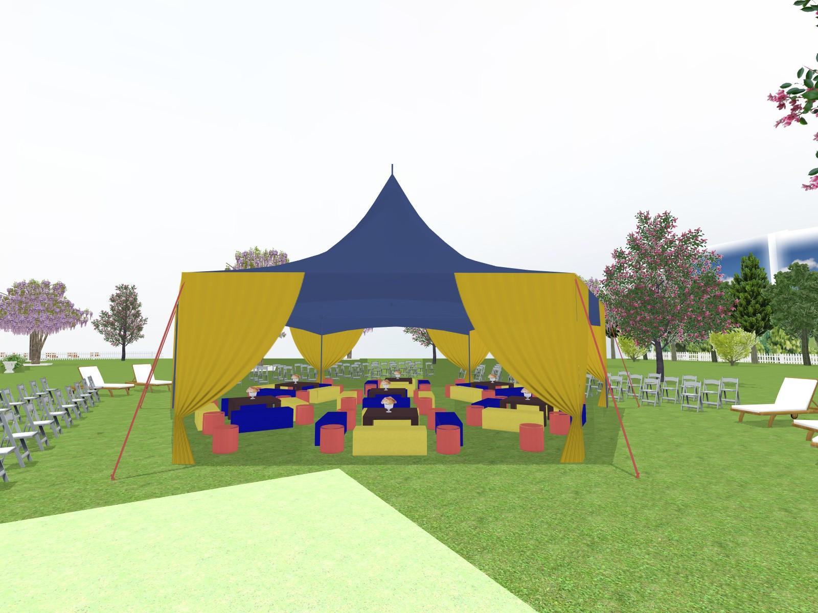 Prestations Plan 3d Evenement Mariage Anniversaire Décoration Evenementielle France Implantation 3d Tente De Reception