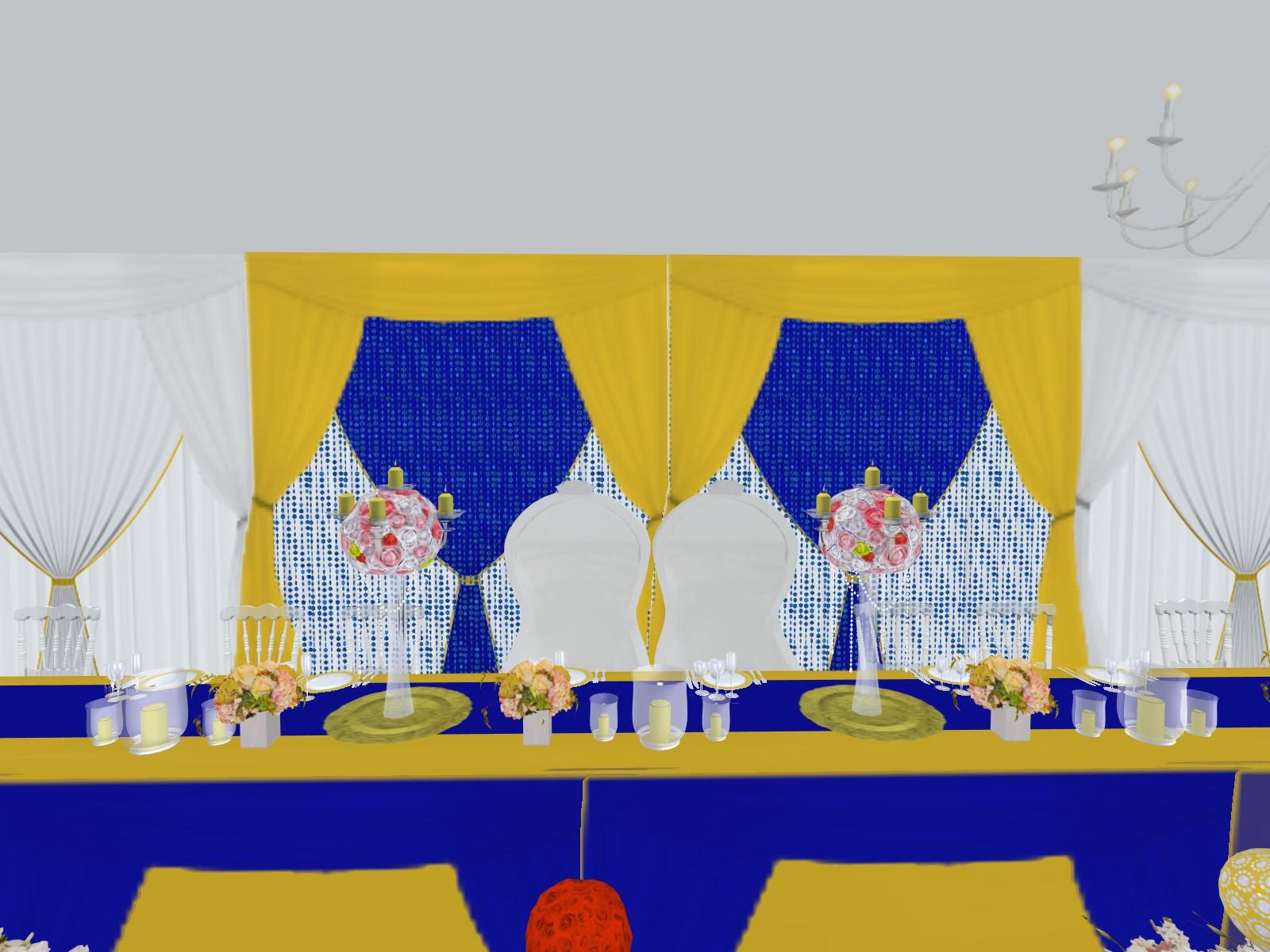 Prestations Plan 3d Evenement Mariage Anniversaire Décoration Evenementielle France Tabledhonneur Place Des Maries
