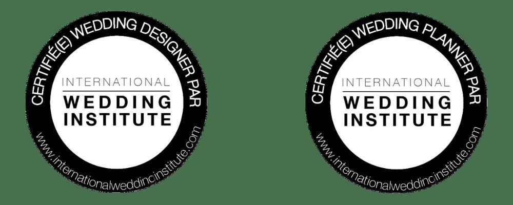 Certifications Wedding Institute